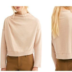 FREE PEOPLE Oh Marley Pullover Sweatshirt One Size
